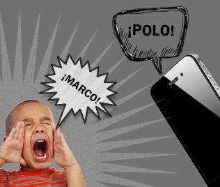 Encuentra tu iPhone jugando a Marco Polo